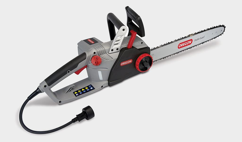 2.Oregon CS1500 Corded Electric Chainsaw