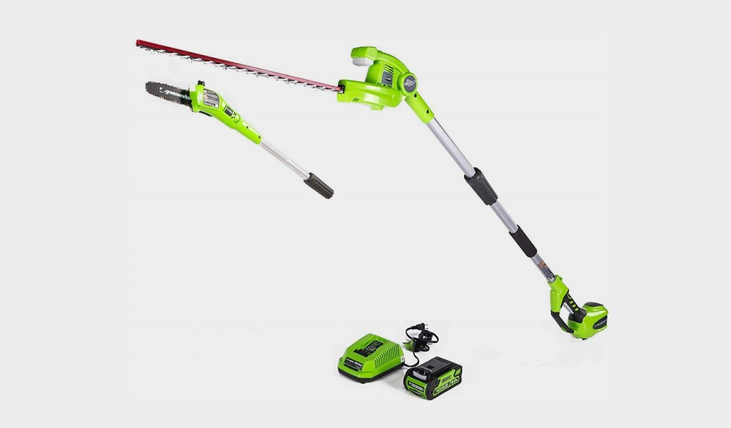 4-Greenworks 40V Cordless Pole Saw