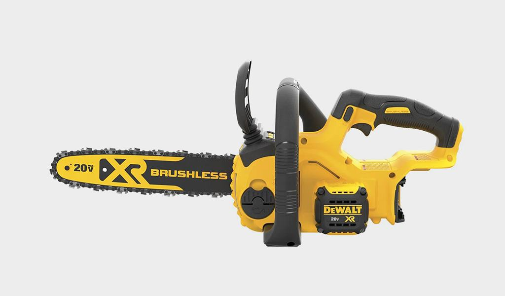 6 - DEWALT 20V MAX XR Chainsaw
