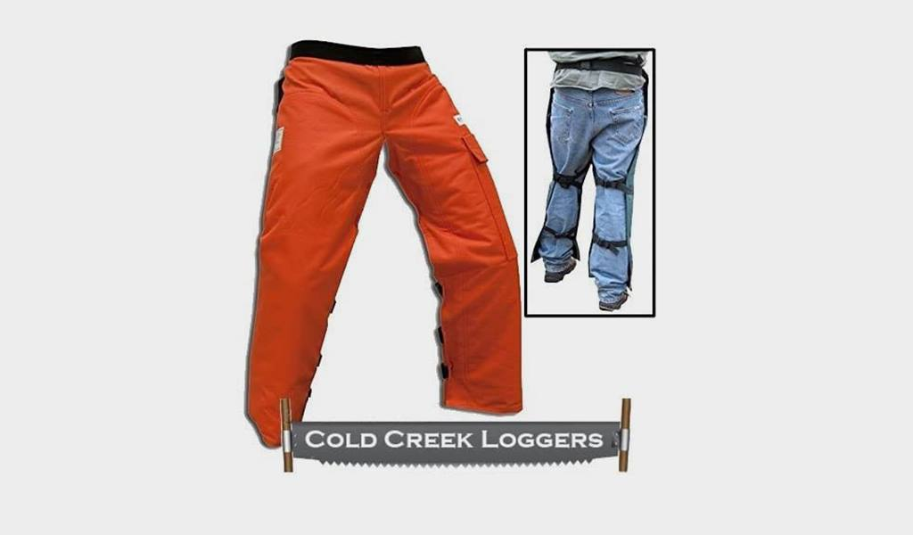 6. Cold Creek Loggers Safety Chaps