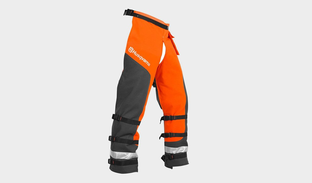 9. Husqvarna 587160704 Technical Apron Wrap Chap