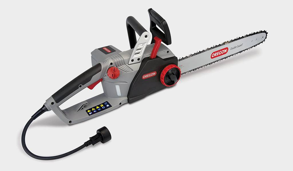 1 - Oregon CS1500 18 in. Corded Electric Chainsaw - Best overall