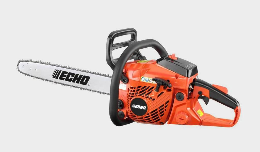 5 - Echo CS-400 18 inch Gas Chainsaw - Best high-powered chainsaw