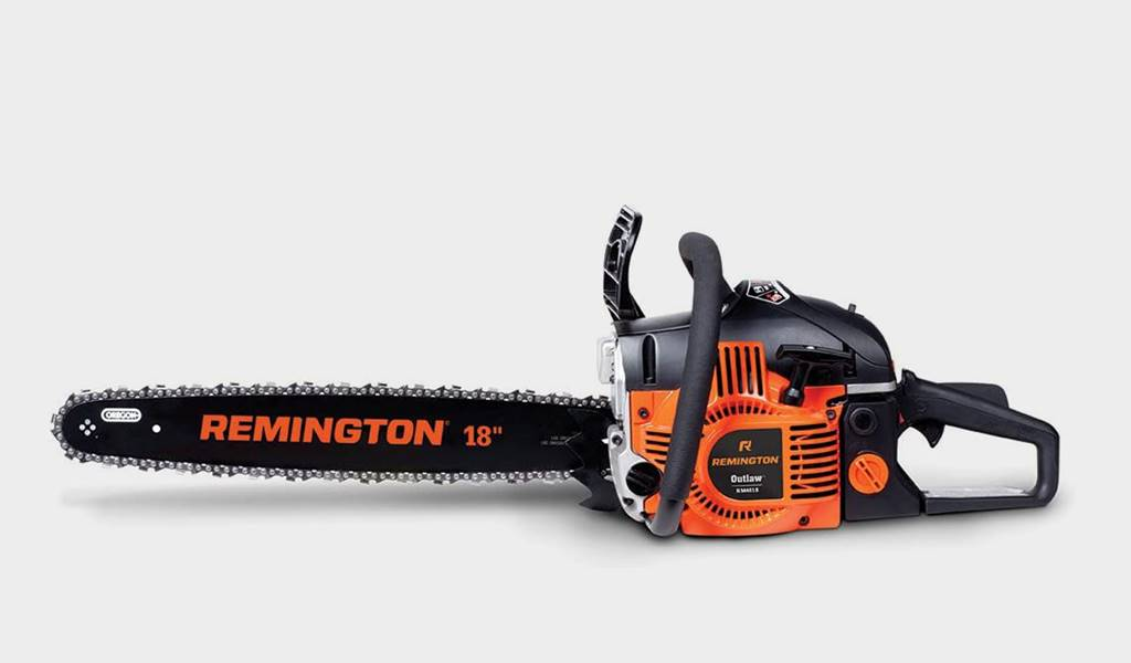 6 - Remington RM4618, 18 in. 42cc 2-Cycle Gas Chainsaw - Best budget gas chainsaw