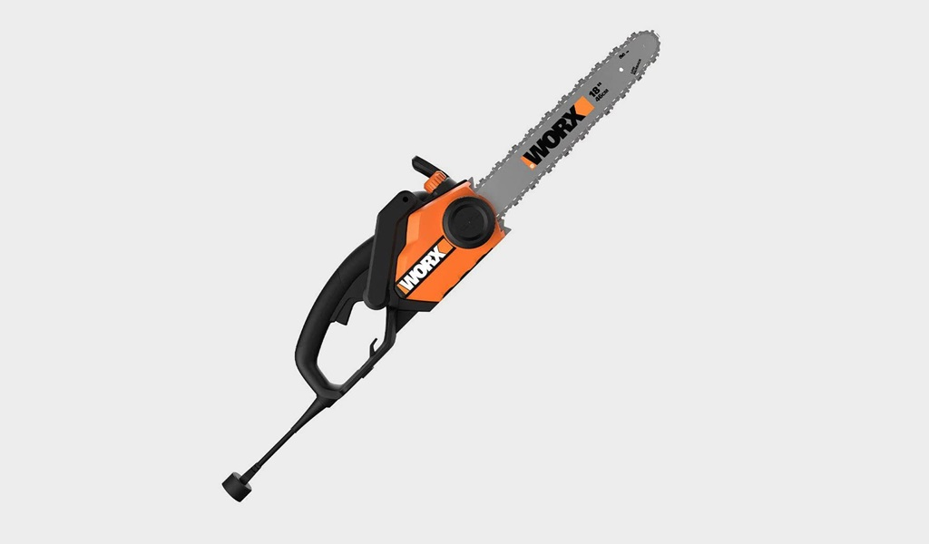 7 - WORX WG304.1 18-Inch Chainsaw- Best lightweight chainsaw