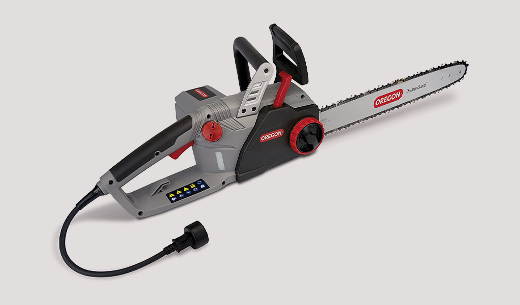 2 Oregon CS1500 18 in. 15 Amp Self-Sharpening Corded Electric Chainsaw