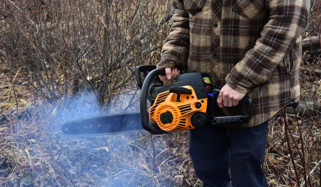 Common problems with chainsaw